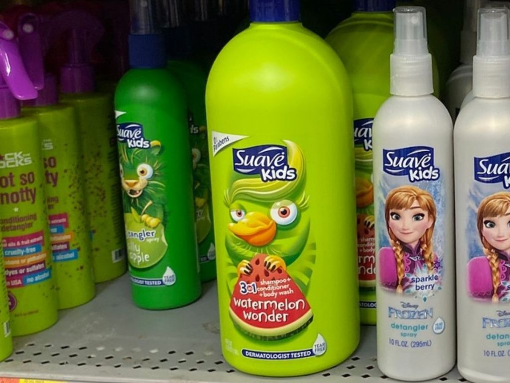 Suave Kids 3-in-1 Shampoo and Detangler