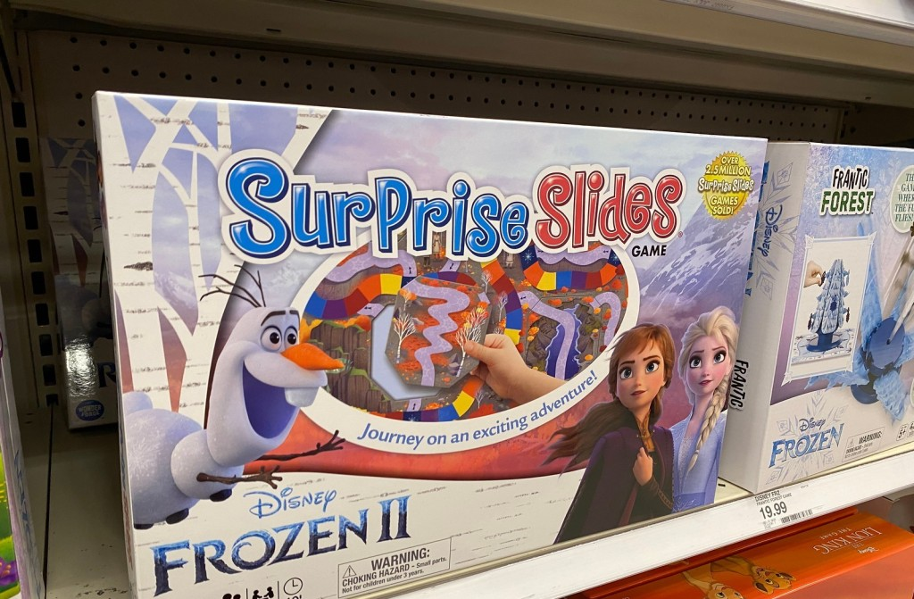 Surprise Slides game on shelf