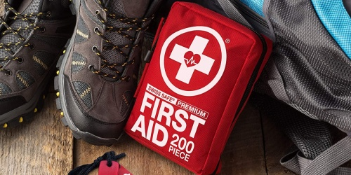 Swiss Safe 200-Piece First Aid Kit Only $16 Shipped (Regularly $35)