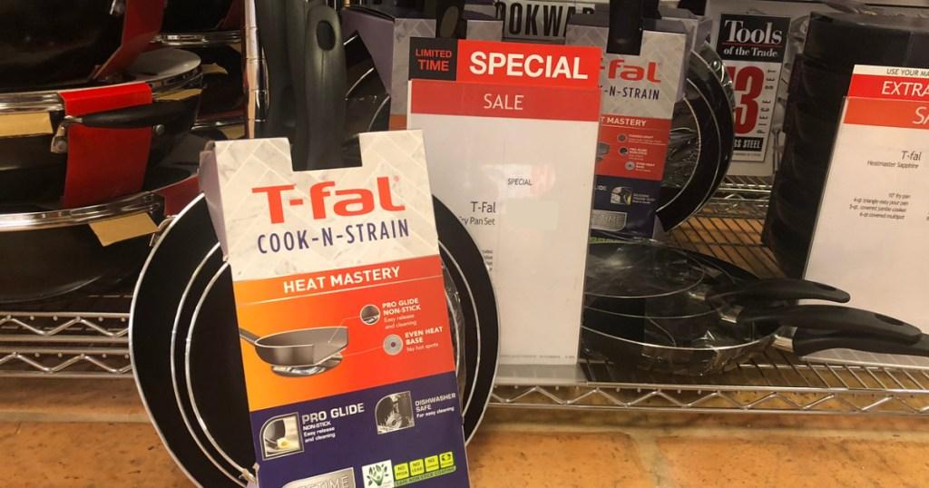 T-Fal 3Pack Pan Set