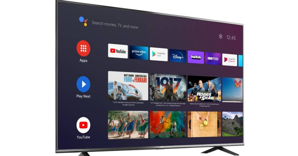 "TCL 65"" 4K UHD HDR Android Smart TV"