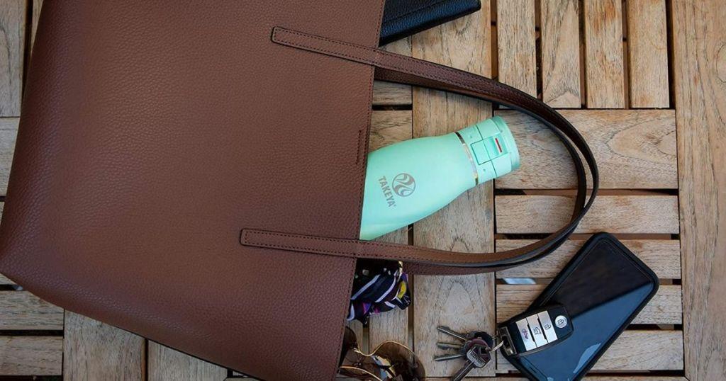Takeya Traveler in a purse