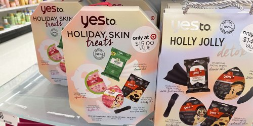Yes To Holiday Skin Treats Set Just $7 on Target.com + 30% Off All Beauty Gift Sets