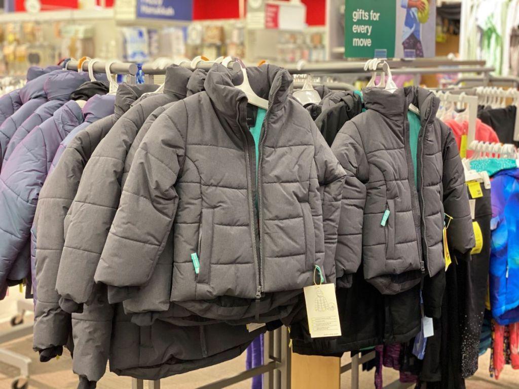 Target Puffer Jackets