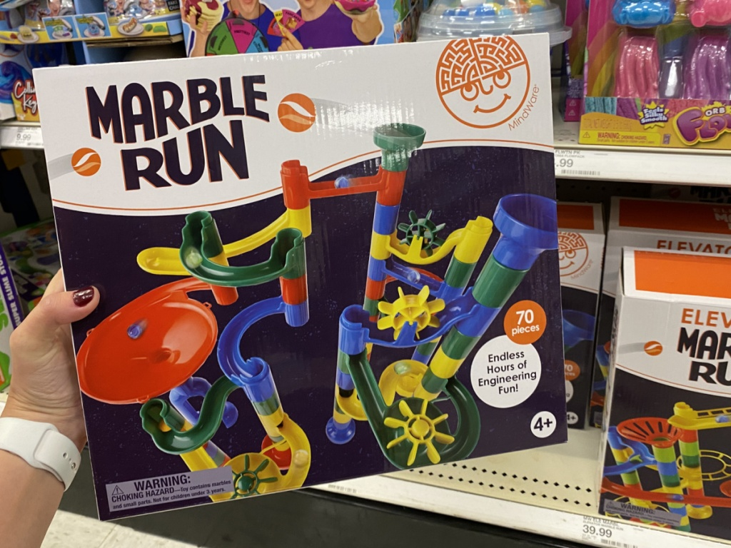 marble run toy at target