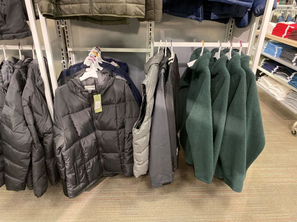 Target men's sweaters and jackets