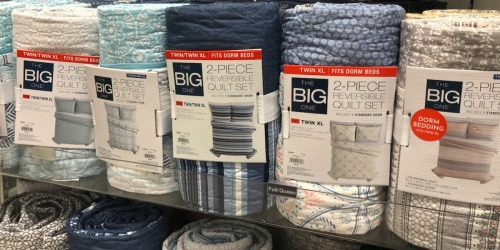 The Big One Reversible Quilt Sets in ANY Size Only $31.99 on Kohl's.com (Regularly up to $140)