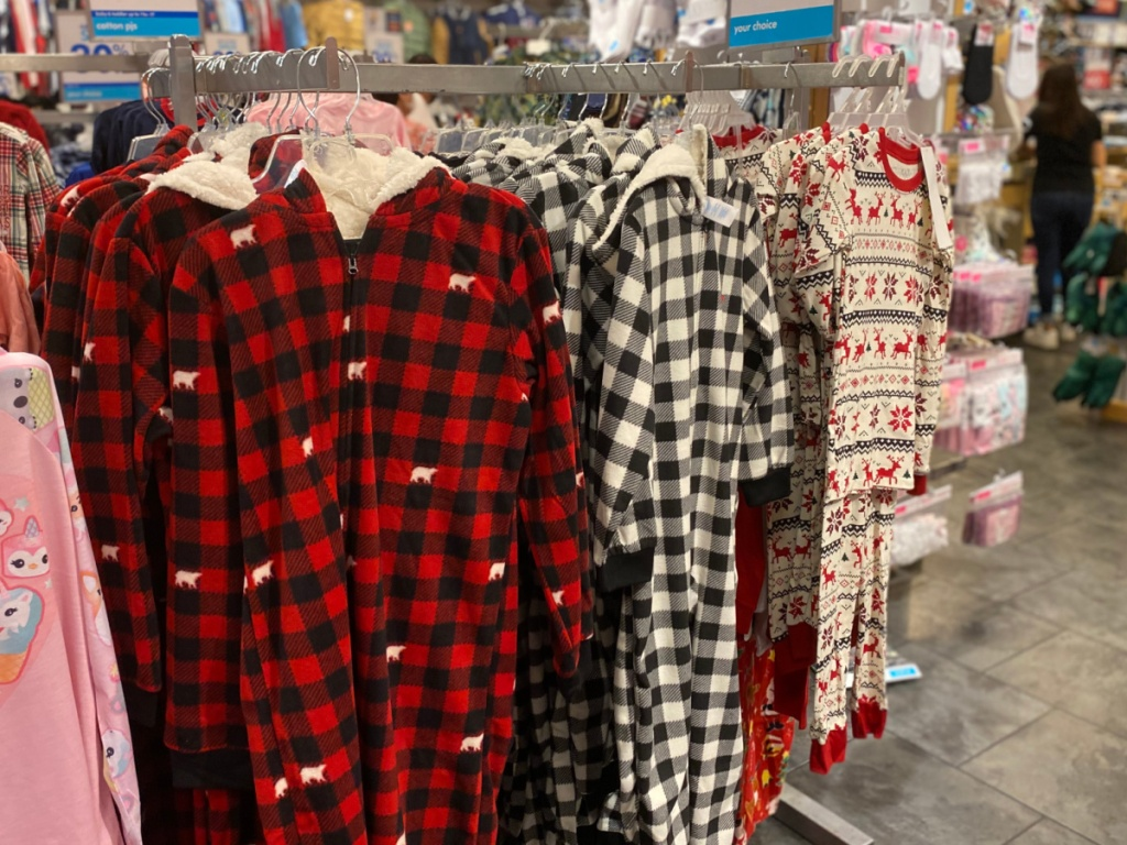 christmas pajamas at the children's place