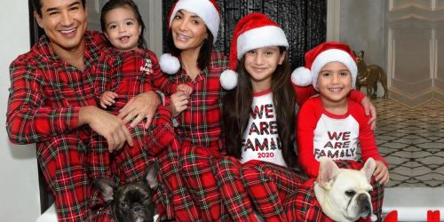 Up to 60% Off The Children's Place Matching Family Pajamas + Free Shipping