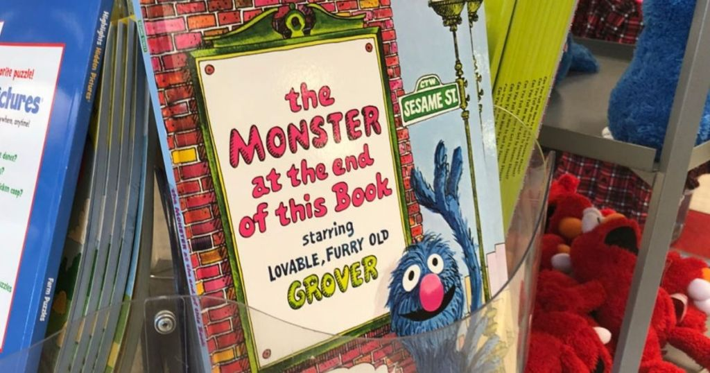 The Monster at the end of this book on display at a store