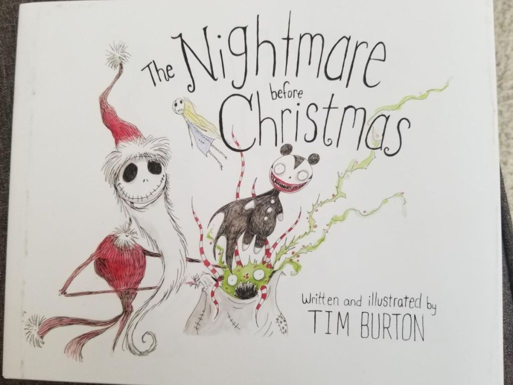 The Nightmare Before Christmas Illustrated