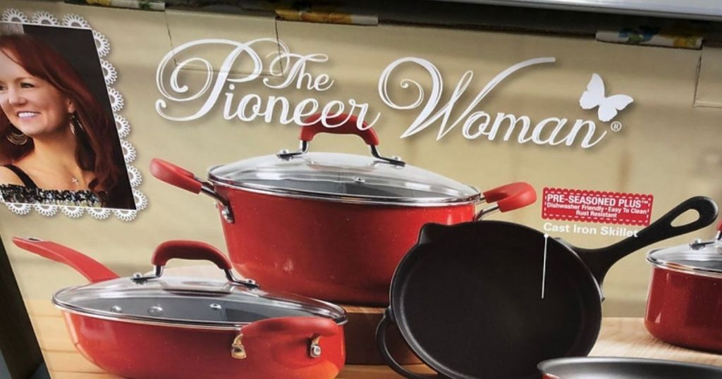 The Pioneer Woman Cookware Set