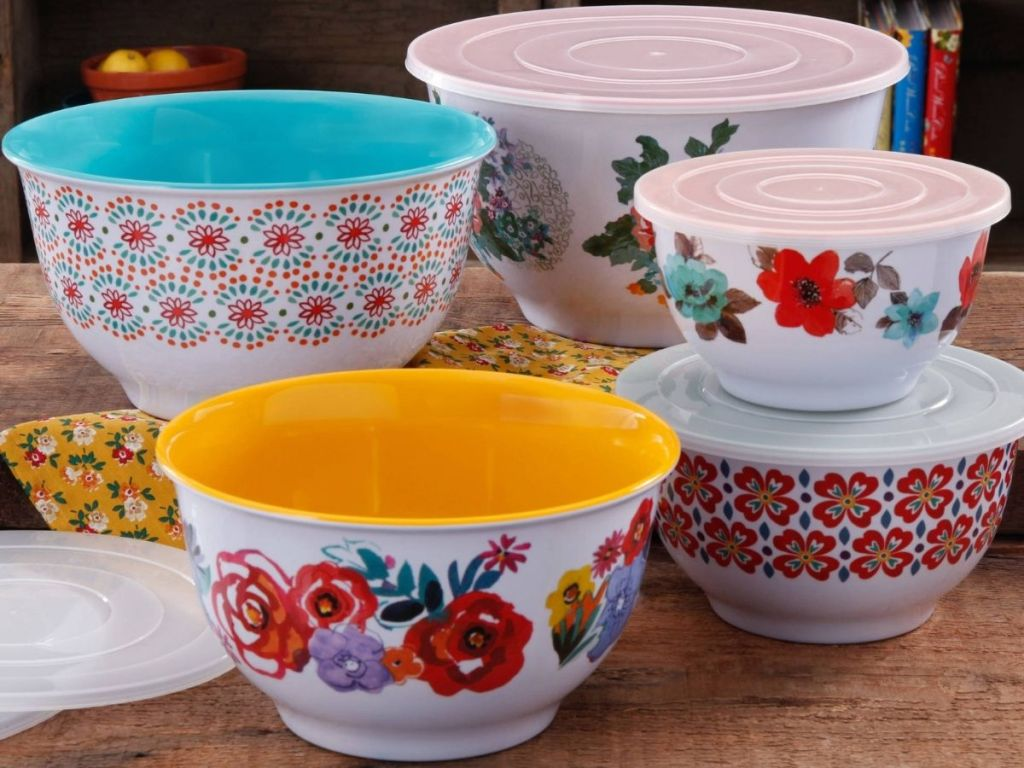 The Pioneer Woman Mixing Bowls