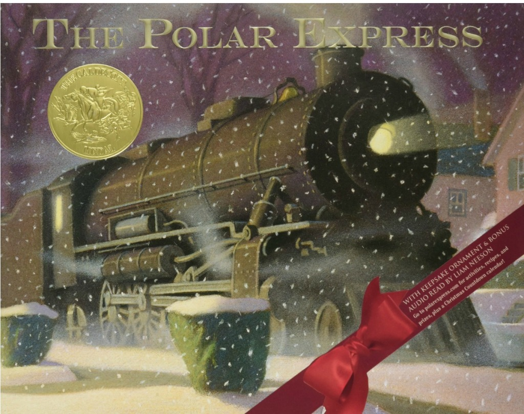 The Polar Express hardcover storybook cover