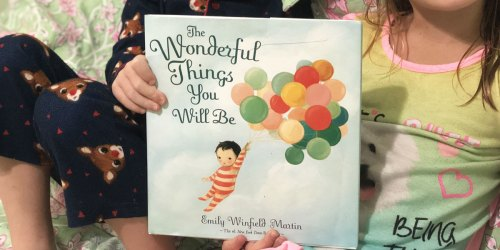 The Wonderful Things You Will Be Book Only $10.76 + Included in Buy 2, Get 1 Free Amazon Book Sale
