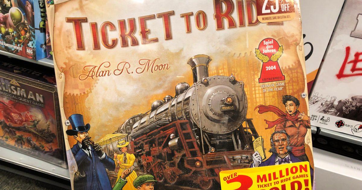 Tiket ke Ride Game