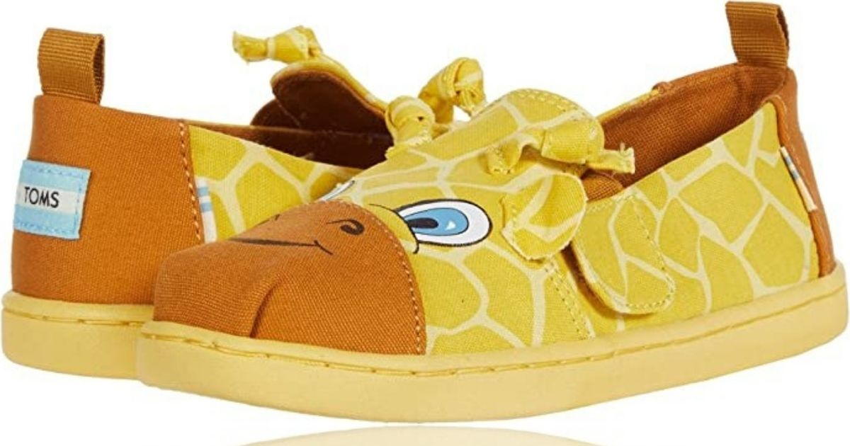 Tiny Tom's Giraffe Alpargatas