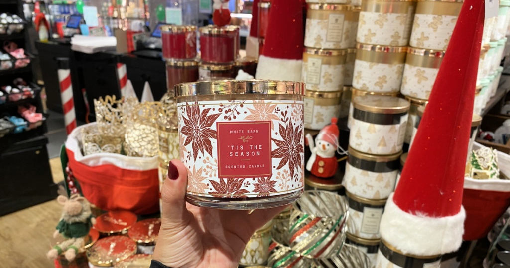 Tis the Season candle at Bath and Body Works