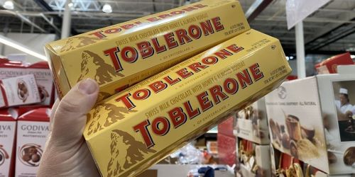 Toblerone Chocolate Bar 6-Pack Only $5.99 at Costco | In-Store Only