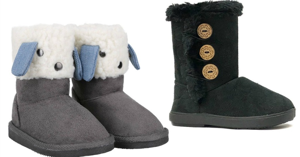 Todller Boots on Zulily