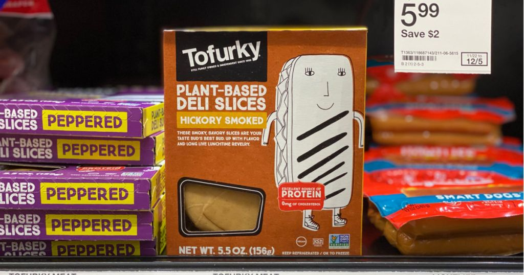 tofurky on shelf