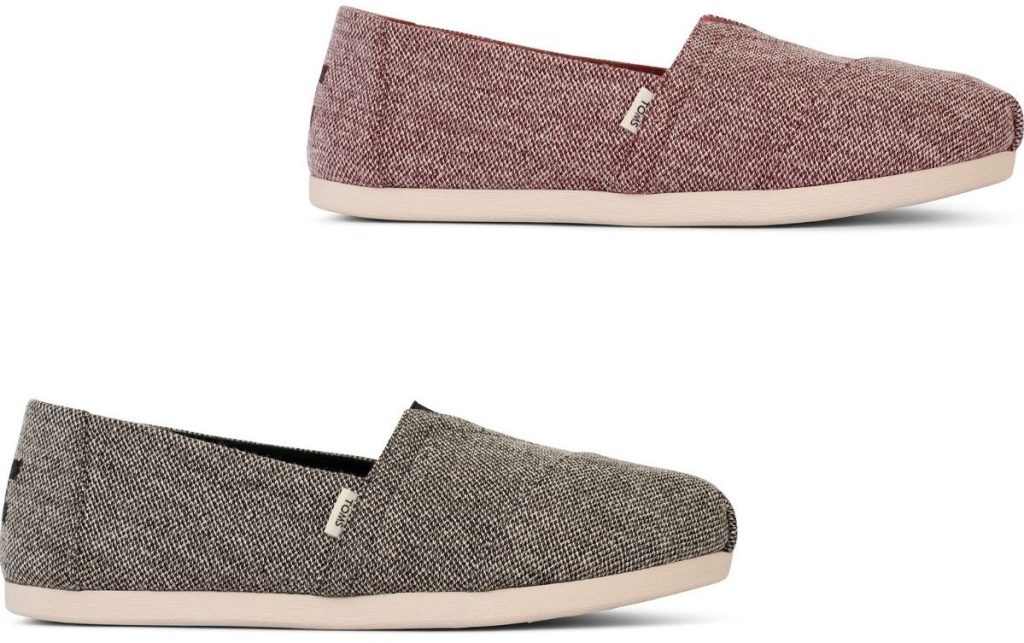 Toms womens heathered Alpargata Shoes