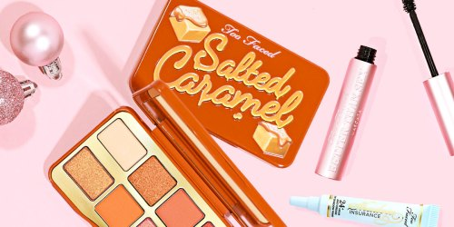 Too Faced 3-Piece Salted Caramel Eye Set Only $32 Shipped on HSN.com ($77 Value!) | Includes Full-Size Products