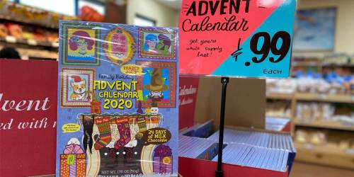 Trader Joe's Advent Calendars Just 99¢ | 24 Days of Real Milk Chocolate