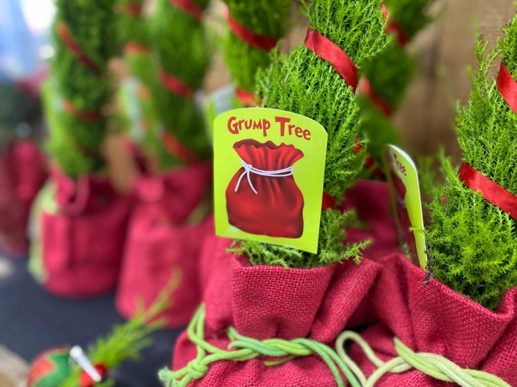 Grinch-Inspired Christmas Tree on display