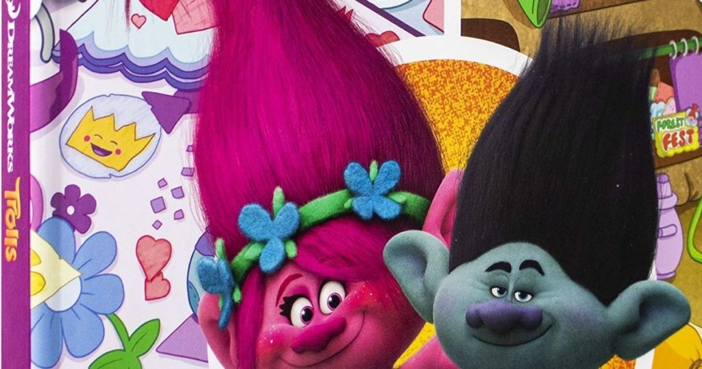 Trolls First Look and Find Board Books Book Cover