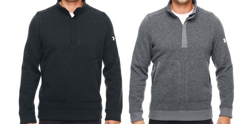 Under Armour Men's Quarter-Zip Pullovers Only $29.99 Shipped (Regularly $85+)