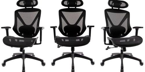 Mesh Desk Chair Only $129.99 Shipped on Staples.com (Regularly $250)
