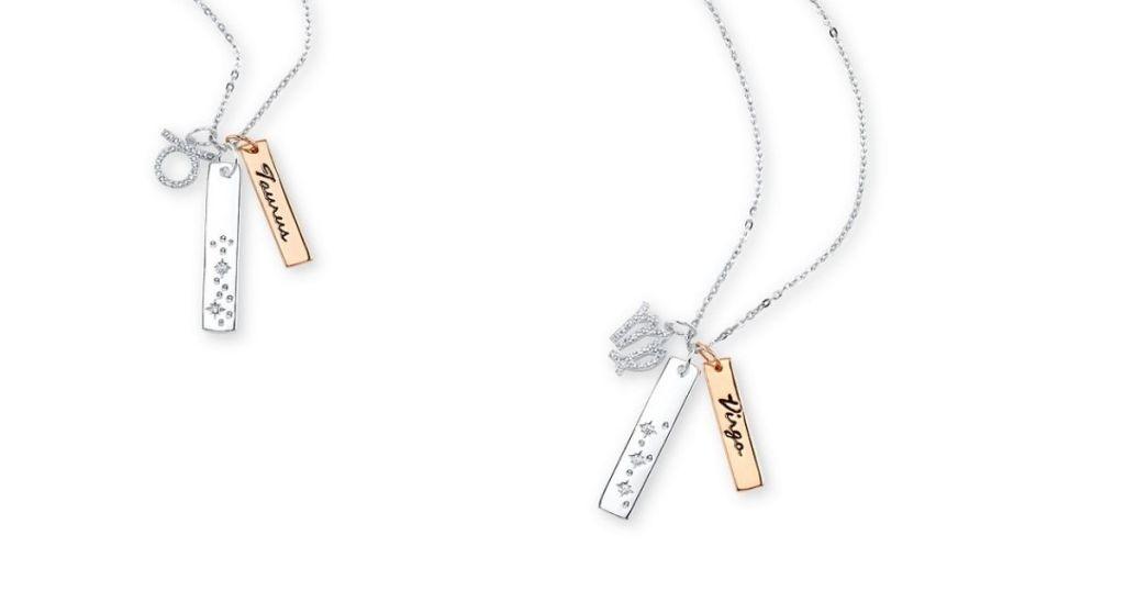Two Unwritten Zodiac Necklaces