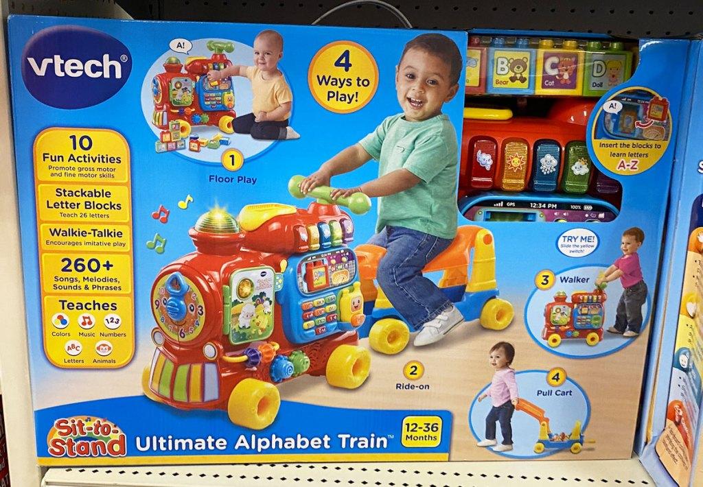 Vtech train kids toy on target shelf