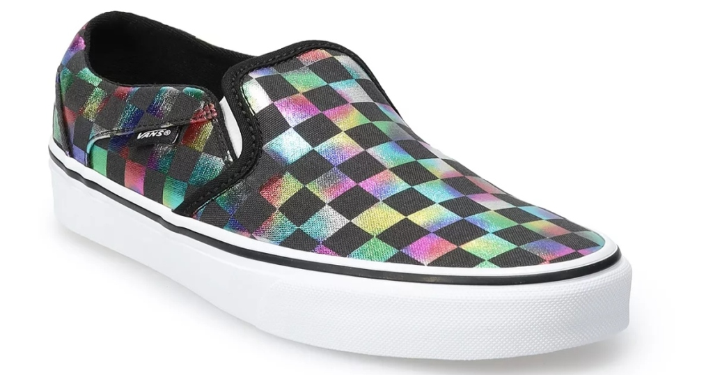 Vans Iridescent Checker shoe