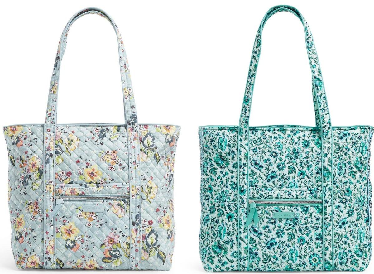 Vera Bradley tote bags in two colors