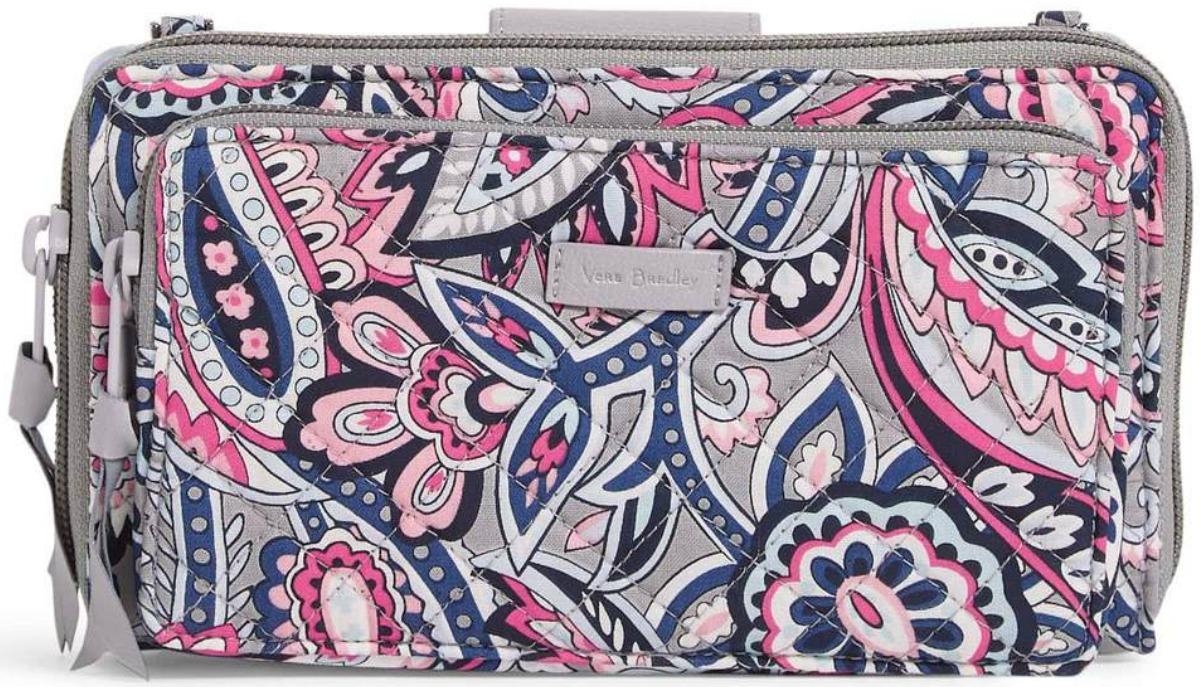 Small Vera Bradley Crossbody bag with paisley print