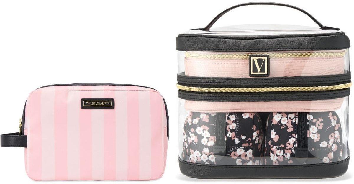 Two Victorias Secret Cosmetics Bags