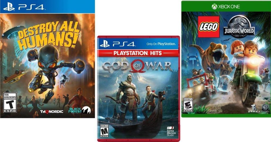 three videogames