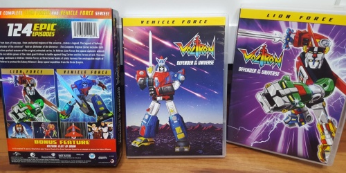 Voltron Defender of the Universe Complete Series DVD Only $19.99 on Amazon (Regularly $56)