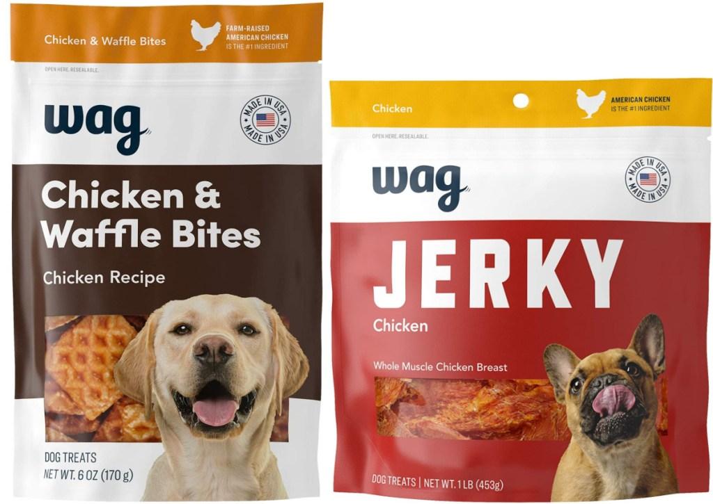 2 wag dog treats on amazon