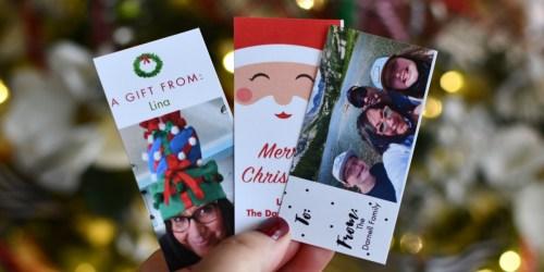 10 FREE Customized Gift Tags at Walgreens w/ FREE Same-Day Pickup