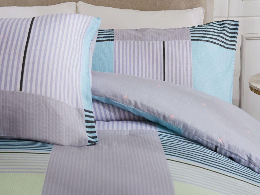 3-Piece 100% Cotton Comforter Set