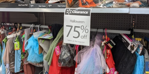 75% Off Halloween Costumes & Makeup at Walmart