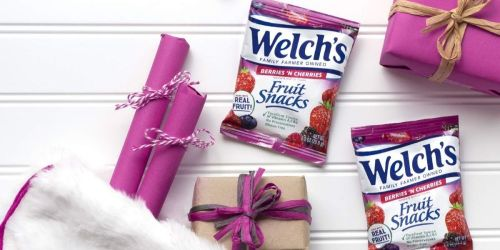 Welch's Fruit Snack Variety Pack 110-Count Only $21.99 on Amazon | Just 20¢ Per Pouch