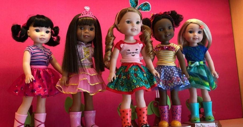 Wellie Wishers Dolls