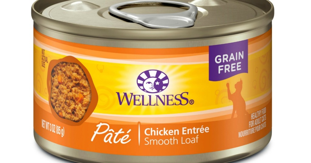 gambar stok kaleng makanan kucing kesehatan