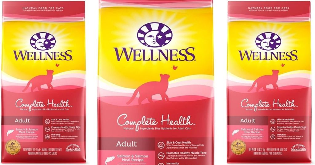 Wellness complete health bags of food