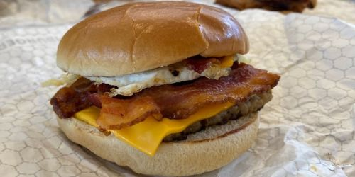 FREE Wendy's Breakfast Baconator w/ Any Purchase | Score a Coffee & Sandwich for $1.29