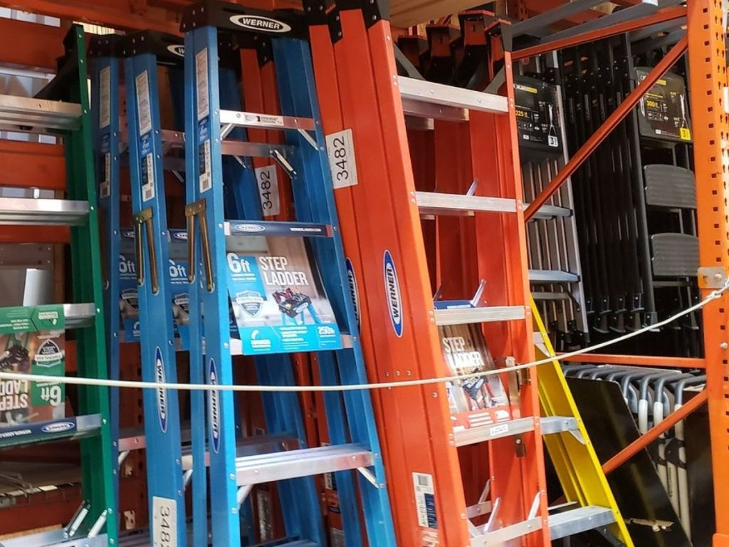 Werner Ladders at The Home Depot